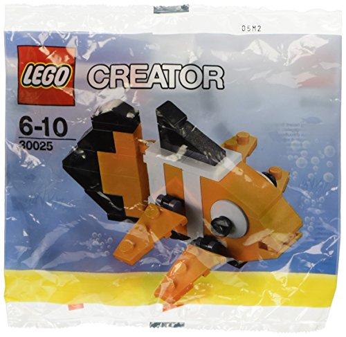 LEGO Creator Mini Figure Set Clown Fish 30025 by - Fisch Lego