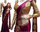Kanha Fashion Women's Silk & Georgette S...