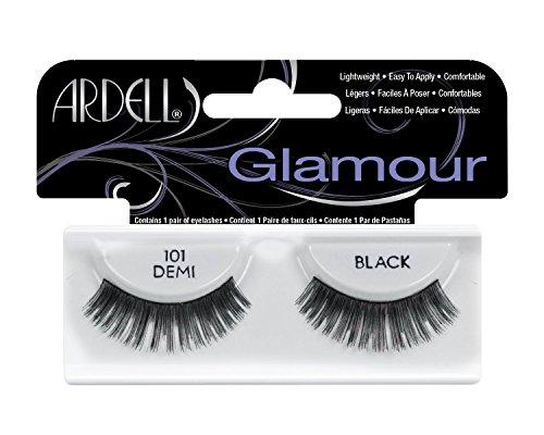 Just Lashes : Ardell Fashion Lashes 101 Demi Black