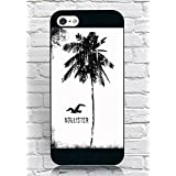 FloralmayCase Funda Cover, Iphone 5 5S Funda Hollister Brand Logo Design Durable Shell Funda Cover for Iphone 5 5S
