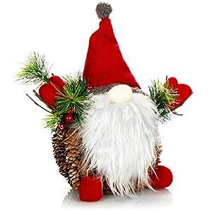 com-four® Figura de Papá Noel