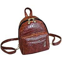 FBGood Jugendliche Leder Rucksack Großer Kapazität Studenten Umhängetasche Draussen Reisetasche Mode Schulrucksack Satchel Schule Taschen