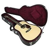 Attitude 98FG-612 Acoustic Guitar Dreadnought Hard Case