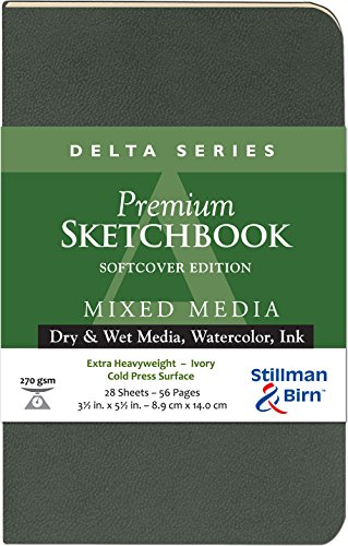 Delta Softcover Sketchbook 3.5X5.5 by Stillman & Birn - And Birn-delta Stillman