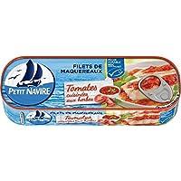 Petit navire filets de maquereaux tomates cuisinés aux herbes msc 169 g - Prix Unitaire - Livraison Gratuit Sous...