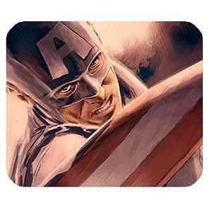 Captain America Custom Rectangle Non-Slip Rubber Mousepad Gaming Mouse Pad