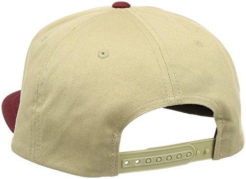 Volcom Herren Baseballmütze Quarter Twill beige/rot