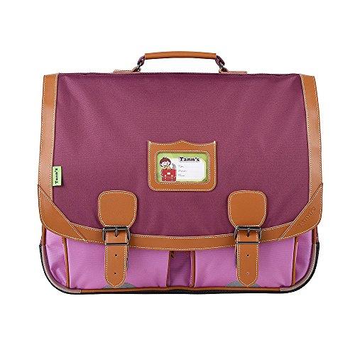 Cartable 41 violet-parme Tann's ICONIC