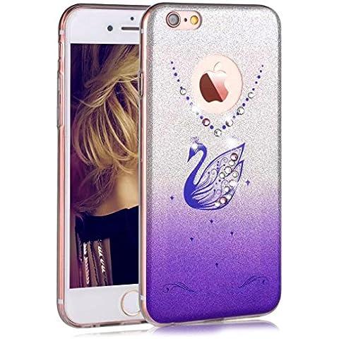 Sunroyal ® Funda para Apple iPhone 6 Plus y 6S Plus (5.5 pulgadas) a Prueba de Golpes, Case Cover Extremamente Delgada Carcasa Protectora de Parachoques Trasero para Apple 6S Plus 5.5