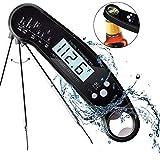 BUTIHOM Digitales Fleischthermometer, Wasserdicht Sofortiges Lesen Kochthermometer, Lebensmittelthermometer zum Grillen, Grillen, Räuchern, Liquid, Backen, Süßigkeiten