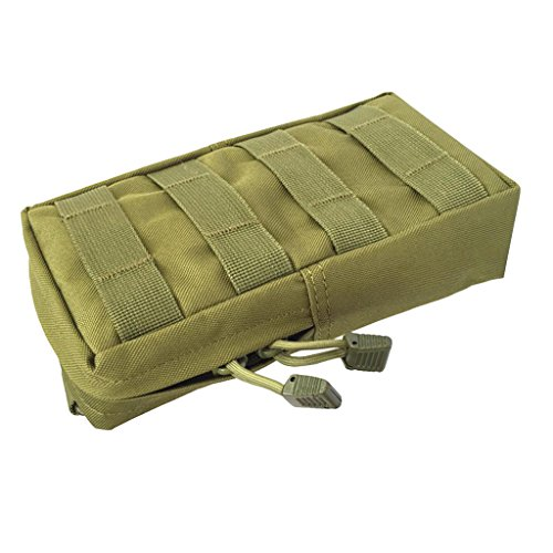 MagiDeal Tacticale Molle Marsupio Cintura Marsupio Vita Militare Fanny Pack Pocket Saccho - #5 #4