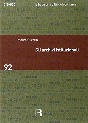 Gli archivi istituzionali. Open