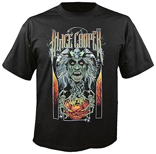 Halloween - T-Shirt Größe XXL (Alice Cooper-halloween)