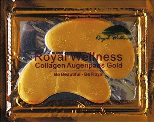 25 x Packungen Originale Augenpads Gold mit Hyaluronsäure & Collagen von Baviphat - Lifting Augenpatches - Pflege für die Augenpartie - Anti Falten Pads - Gesichtsmasken & Gesichtskuren - Nachhaltige Methode zur Faltenreduzierung