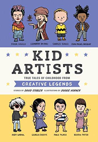 Kid Artists (Kid Legends) por David Stabler