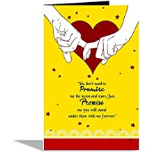 Alwaysgift You Do Not Need To Promise Day Valentines Day Greeting Card