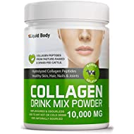 Liquid Body Drink Mix Bovine Collagen Powder   Peptide Hydrolysate   Pasture Raised & Grass Fed   Non-GMO, Gluten Free   Types 1,2 & 3   19 Amino Acids   Add to any drink   Tasteless and Odourless - 300g