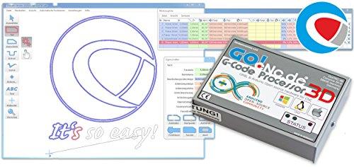 G-Code Processor 3D V. 3.0 - GRBL und Arduino basierte 3D CNC Steuerung
