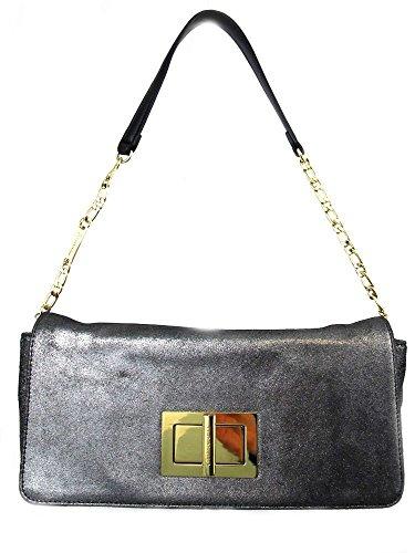 tignanello-pochettes-femme-gris-gris-taille-unique