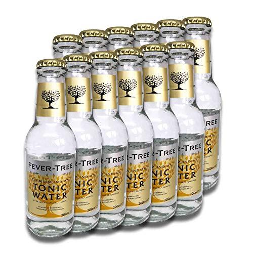 Fever Tree Premium Indian Tonic Water 12 x 0,2 Liter (Dosen Tonic Water)