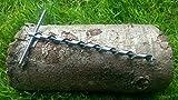 Mini Scotch Eyed T Schlangenbohrer für Bushcraft & Survival Fallenjagd para-rope Poly-Seil