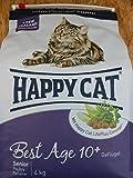 Happy Cat Katzenfutter Fit und Well Senior 4 kg