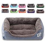 Hundebett,Katze oder Hund super weiches Haustier Schlafsofa,Haustierbett,warmes und atmungsaktives Haustierbett,Geeignet für kleine,mittlere und große Hunde