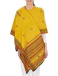 Main brodé Laine Châle Wrap accessoires de mode pour femmes 84x36 pouces