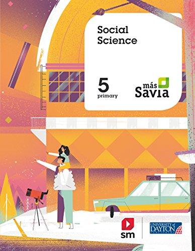 Social science. 5 Primary. Más Savia. Pupil's Book
