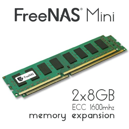Ram-daten Computer Inc (freenas Mini-Memory Upgrade-2x 8GB DDR31600MHz ECC Unbuffered)