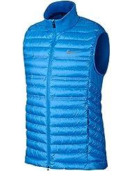 Nike Aeroloft Poly relleno chaleco, hombre, azul, XXL
