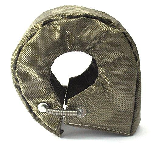 Titan T4 Turbo Decke Lava Abdeckung Turbo Shield für Turbolader Wärmeschutz Abdeckung mit Verschlüssen Federn -