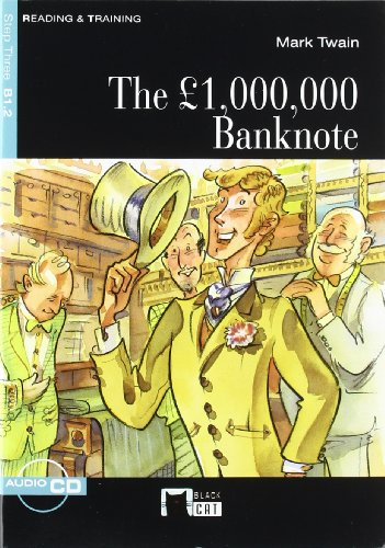 The £ 1.000.000 Bank Note+cd N/e (Black Cat. reading And Training) por De Agostini Scuola Spa