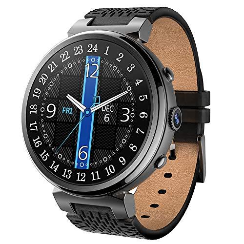 aimeixiaodian smart watch I6 WiFi, Fitness Tracker Android5.1, 512 Mb + 8 Gb / 2 Gb + 16 Gb, GPS-Herzfrequenz/Blutdruck / Pedometer/Kalorien, FüR Android Und Ios - Zwei Farben Optional