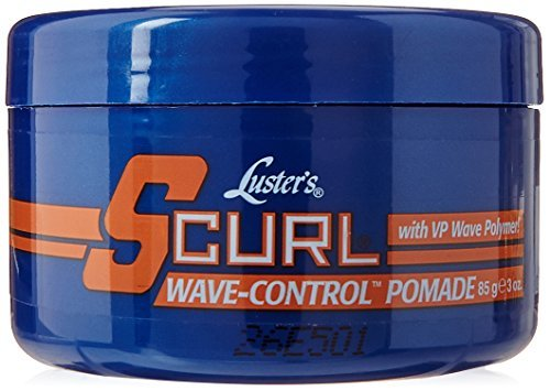 Luster's S-Curl 360 Style Wave Control Pomade, 3 Ounce by Lusters (S-curl 360 Style Pomade)