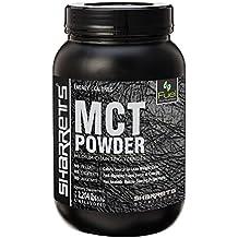 Sharrets MCT Oil Powder [C8 Caprylic and C10 Capric Acid, sports supplement, MCT oil Medium Chain Triglycerides, keto Supplement, mct oil keto ] 2.202 lbs / 1Kgs Non GMO GLUTEN FREE, UNFLAVORED