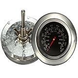 Bermud Edelstahl Bimetall Thermometer Bratenthermometer Grillthermometer Edelstahl Werkzeuge BBQ Gasgrill