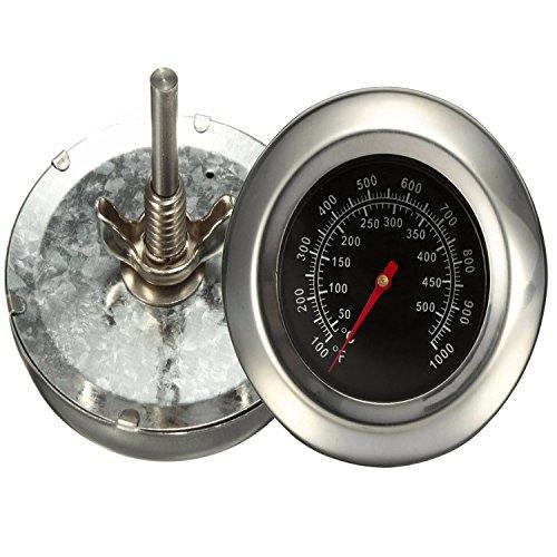 Bermud Edelstahl Bimetall Thermometer Bratenthermometer Grillthermometer Edelstahl Werkzeuge BBQ Gasgrill Barbecue Temp Gauge