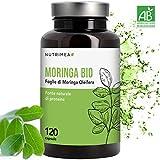 Moringa Biologica • Moringa Oleifera 120 Capsule 400mg • Vitamine Antiossidanti Proteine •...