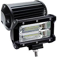 2 X72W LED Arbeitsscheinwerfer Off-road Scheinwerfer Fahrzeug Strahler für Jeep SUV IP67 wasserdicht Zusatzscheinwerfer Flutlicht 5 Inch