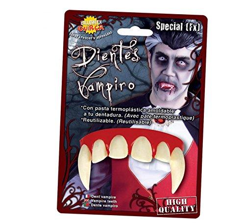 Denti Vampiro Conte Dracula (riutilizzabili)