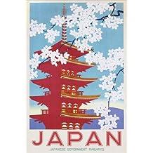 Japanese Government Railways - Maxi póster de flores