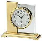 AMS Ams 5141 Horloge Radio-Pilotée Métallique Sur Pied Doré