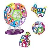 Innoo Tech 46tlg Magnetische Bausteine, größe Riesenrad Bauklötze, Inspirierende Konstruktionsbausteine, Lernspielzeug, Tolles Geschenke für Baby Kleinkind ab 3 Jahre