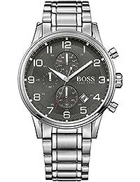Hugo Boss Herren-Armbanduhr Chronograph Quarz Edelstahl 1513181