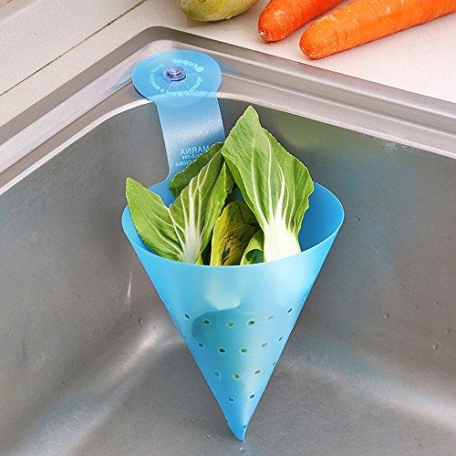 Forepin® 5 Pezzo Imbuto Utensili da Cucina Plastica Cestello per Lavaggio di Frutta e Verdura