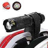 MakeTheOne Helmlampen Helmleuchte Fahrrad Scheinwerfer Stirnlampe Cree XML-T6 MTB leuchtet Zyklus Helm Montieren Torch Frontlich und Rücklicht