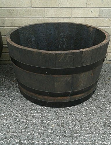 Used, Real Whisky Half Barrel Oak Planter for sale  Delivered anywhere in UK