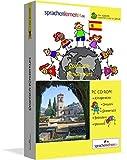 Spanisch-Kindersprachkurs von Sprachenlernen24: Kindgerecht bebildert und vertont für ein spielerisches