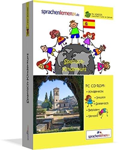 Spanisch-Kindersprachkurs von Sprachenlernen24: Kindgerecht bebildert und vertont für ein spielerisches Spanischlernen. Ab 5 Jahren. PC CD-ROM für Windows 10,8,7,Vista,XP / Linux / Mac OS X